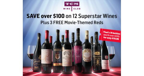 68% off 15 Super Star Wines from TCM Wine Club - Online Discount